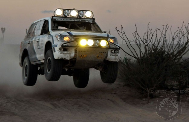 Lexus LX 570 Takes First In Class In The Tecate Baja 1000 ...
