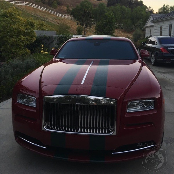Huh? Kylie Jenner Customizes Her Rolls Royce Wraith With