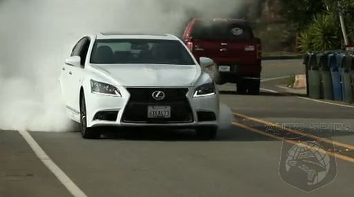 VIDEO ROAD TEST: Lexus Answers The Germans With The LS460 F-Sport But Does It Make The Cut?