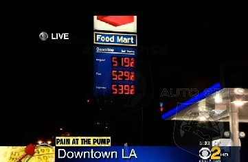 Gas Prices Top $5.00 A Gallon In California AGAIN!