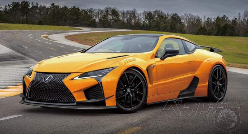 Lexus Aims High With The Lc F Will Match Performance Of