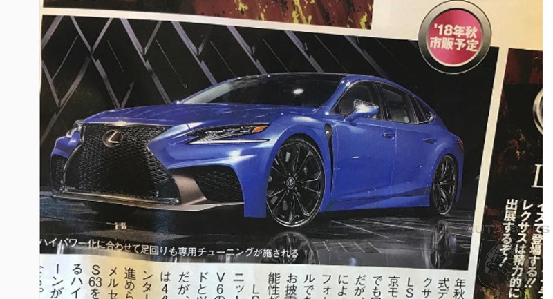 Is Lexus On The Verge Of Taking Down The German Elite With A 600+HP LS F?