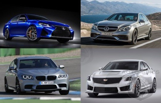 Lexus Gs F Vs Bmw Cadillac Cts V Mercedes Which Is The