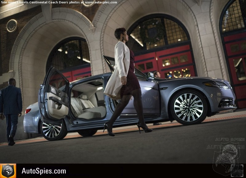 Lincoln Proves Again That Classy Sells - Continental 80th Anniversary Coach Door Edition Sells Out