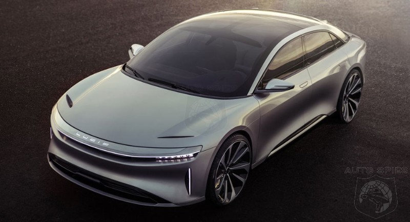 Lucid Motors Air Sedan To Undercut Model S At Only $52,000