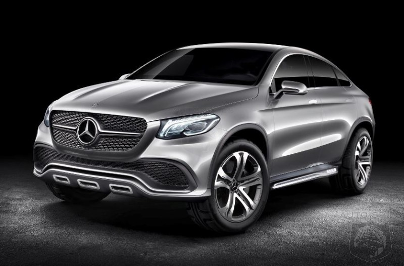 Mercedes-Benz Previews The MLC SUV - Worthy Competition To The BMW X6?