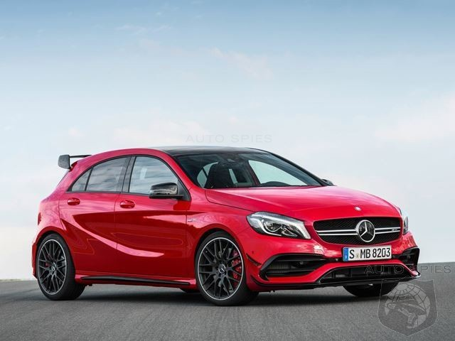 Mercedes Dashes Our Dreams The 400hp Mercedes Amg A45 Is