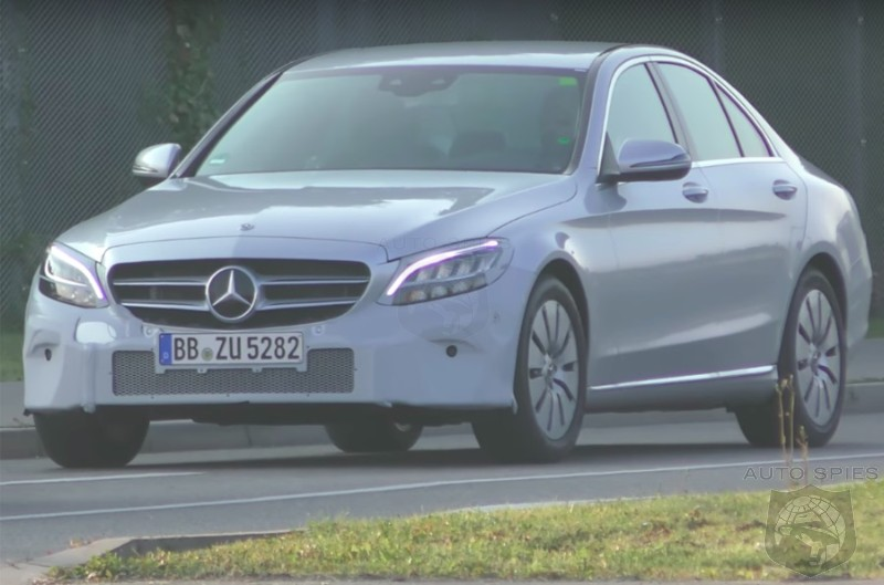 VIDEO: Updated Mercedes-Benz C Class Caught In The Nude