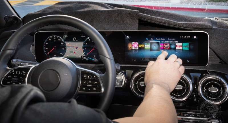 Upcoming Mercedes A-Class To Be The First To Incorporate MBUX Infotainment System