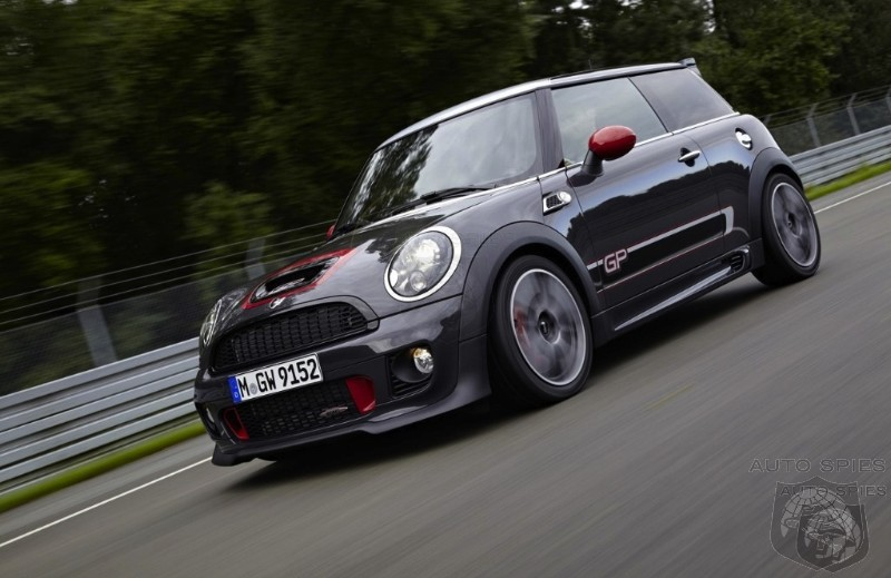 Mini Drops A 218HP Nuke On Fiat's 500 Abarth With The 2013 John Cooper Works GP