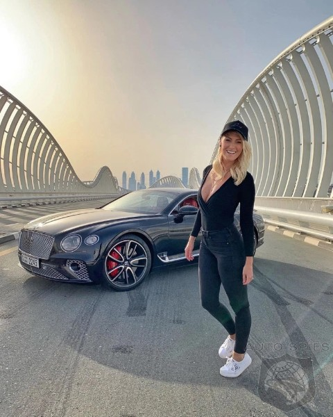 SUPERCAR BLONDIE: This Blonde Is Not Only Having More Fun