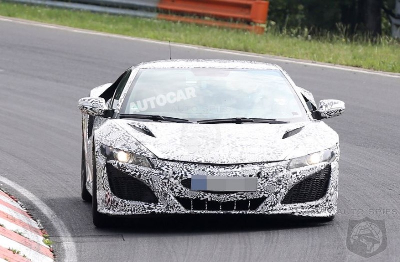 NSX Caught Undergoing Final Testing - Is This One Going To Be A Contender Or Another Pretender?