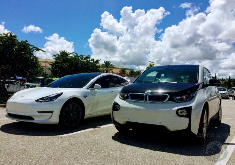 EV Battleground Is California Because That's Where The Tax Credits Are