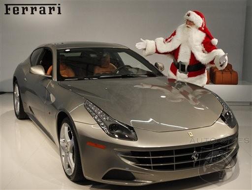 Neiman marcus christmas catalog showcases 395 000 ferrari for Ferrari christmas