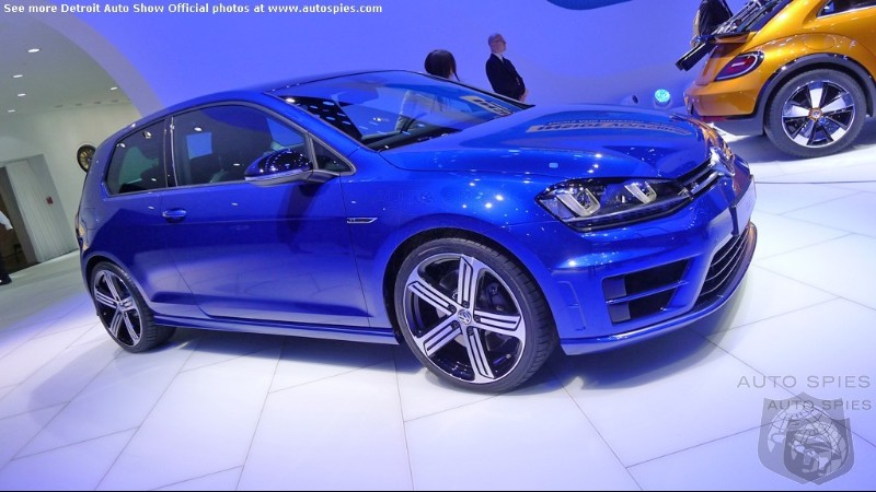 DETROIT AUTO SHOW: Volkswagen's GOLF R Becomes The Most Powerful Golf Ever