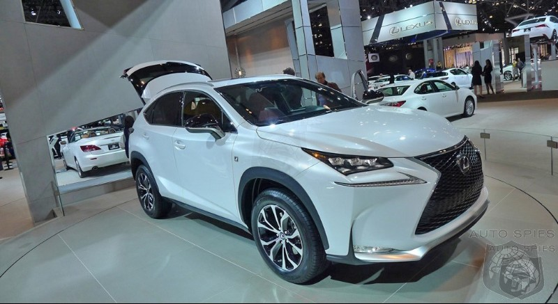 Lexus Receives 6,500 Japanese Pre-Orders For Pint Sized NX Crossover