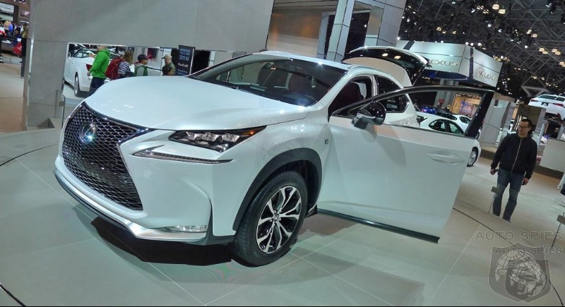 Preorders Indicate NX May Challenge RX For Top Sales Stop In Lexus Lineup