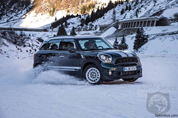 2015 MINI Clubman Caught Cold Weather Testing In The Nude