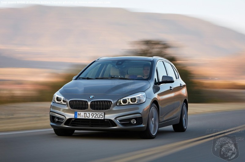 BMW Expects 75% Of 2-Series Active Tourer Buyers To Be From Other Brands - Who Will Resist the Temptation Of Switching To A BMW?