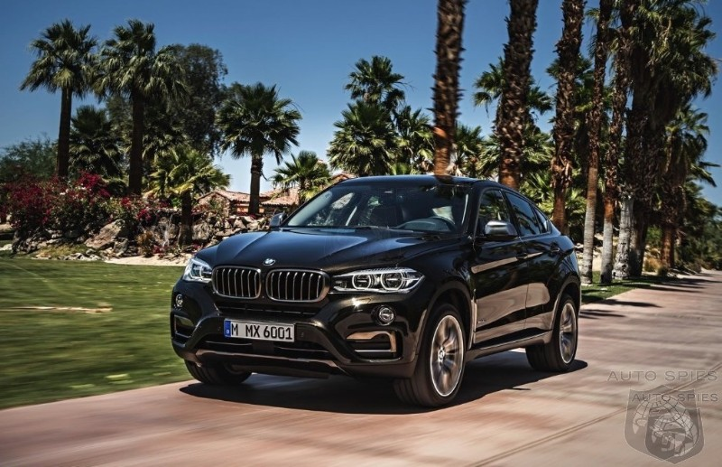 BMW's Introduces The 2015 X6 - Is This Game Over For The Competition?