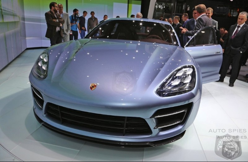 PARIS MOTOR SHOW: The  Panamera Sport Turismo The First Practical Sports Car For The Family?