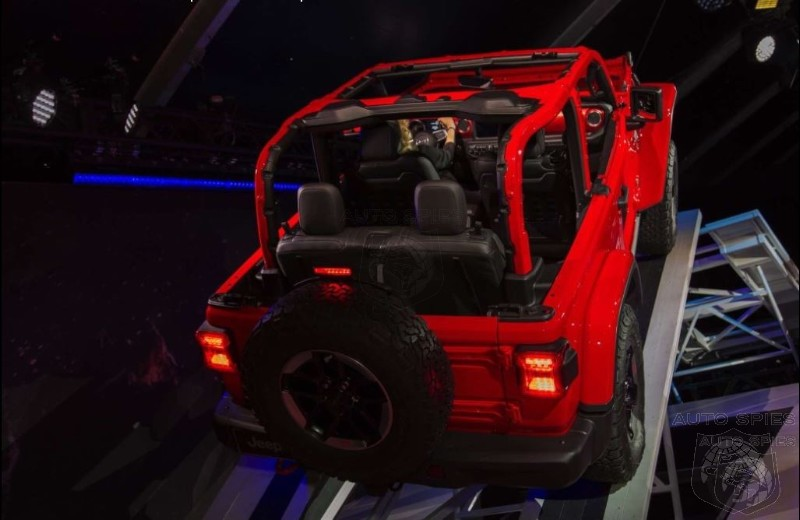 #LAAUTOSHOW: Jeep Confirms That Plugin Hybrid Wrangler You Were Wishing For Is In The Works