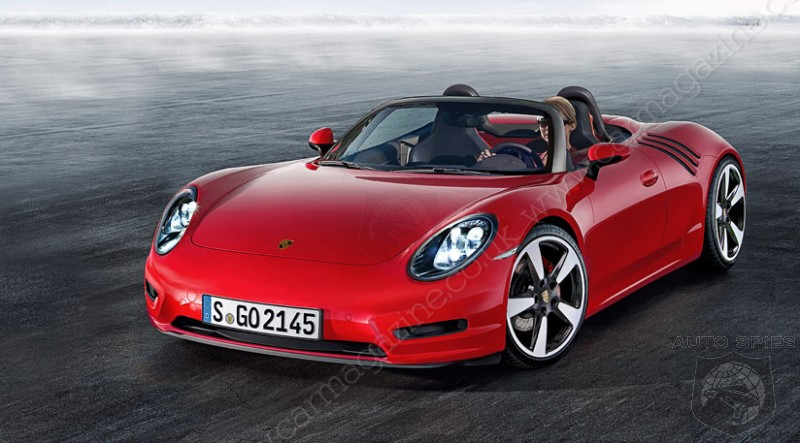 STUD OR DUD? Baby Porsche 718 Roadster Rendered And Detailed