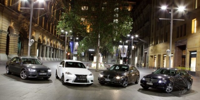 Lexus IS v BMW 3 Series v Mercedes-Benz C Class v Audi A4 - Which Is The Best Compact Premium Sedan?