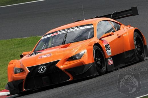 Lexus RC F GT3 Concept To Debut In Geneva