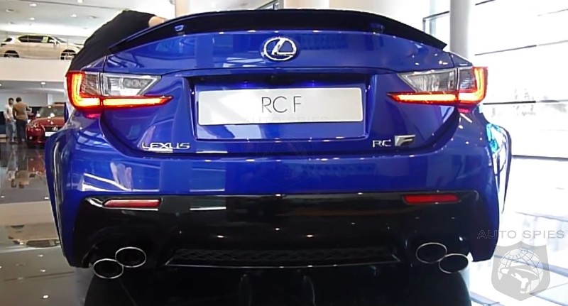 Lexus RCF Exhaust Sound Byte - The Roar Of The New King In Town? Or Just The Jester?