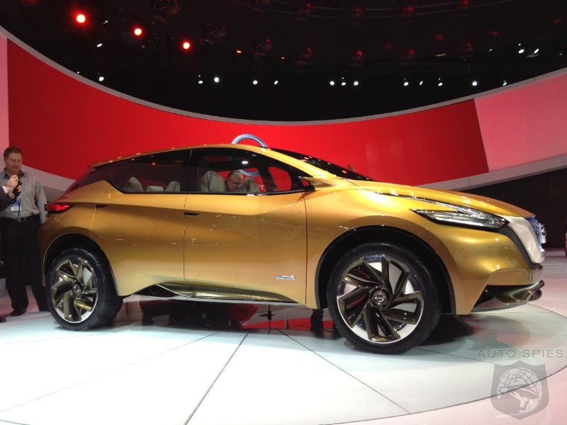 DETROIT AUTO SHOW: Nissan Debuts The Resonance Concept, A Taste Of The Next Murano