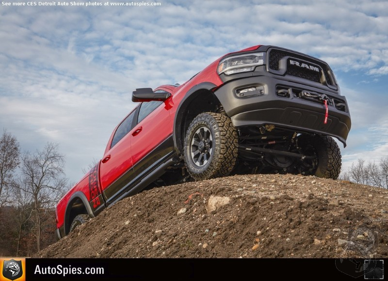 #NAIAS: Everything You Would Want To Know About The RAM Heavy Duty, A Class All Of It's Own
