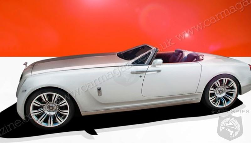 Hello There, Are You The 2017 Rolls Royce V16 Roadster?