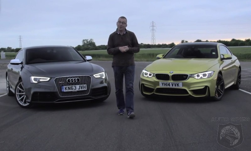 BMW M4 vs Audi RS5 Video Shoot Out - Will The Benchmark Of The Class Please Stand Up?