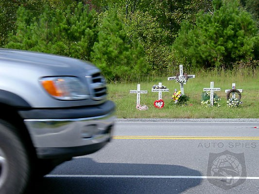 NHTSA Heavy Hand Fails To Deliver - Road Death Toll Increases 3.3% In 2012