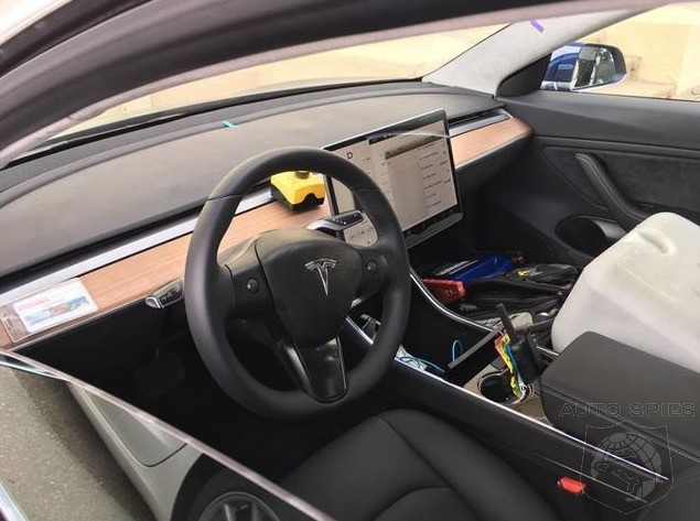 Tesla Banking On Consumers Not Wanting Dash Instruments In Model 3 What About You