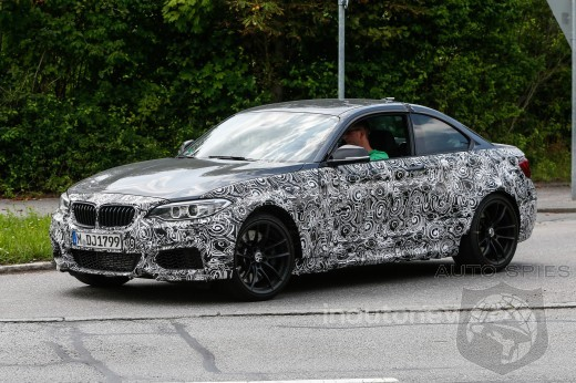 SPIED: BMW M2 Test Mule Caught In The Wild