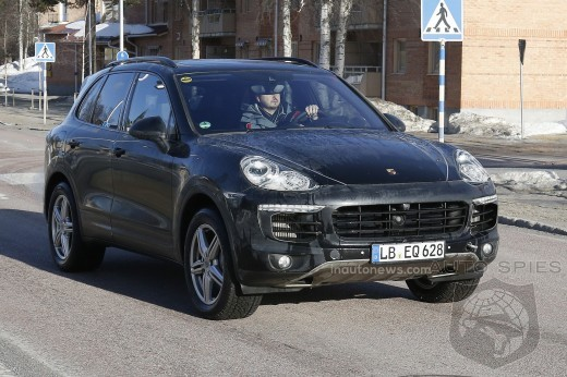 STUD OR DUD? Facelifted Porsche Cayenne Caught In The Buff