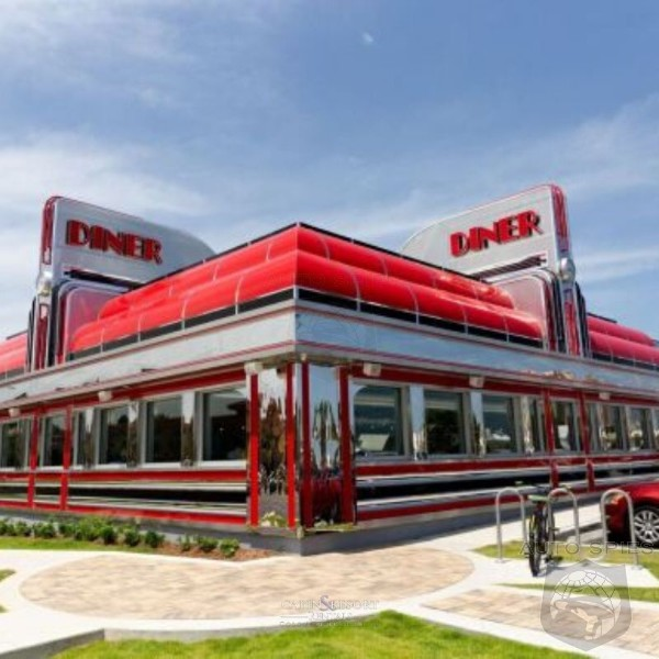 Elon Musk Announces Retro Style Supercharging Station With Drive In Movies And A Classic 50's Style Diner