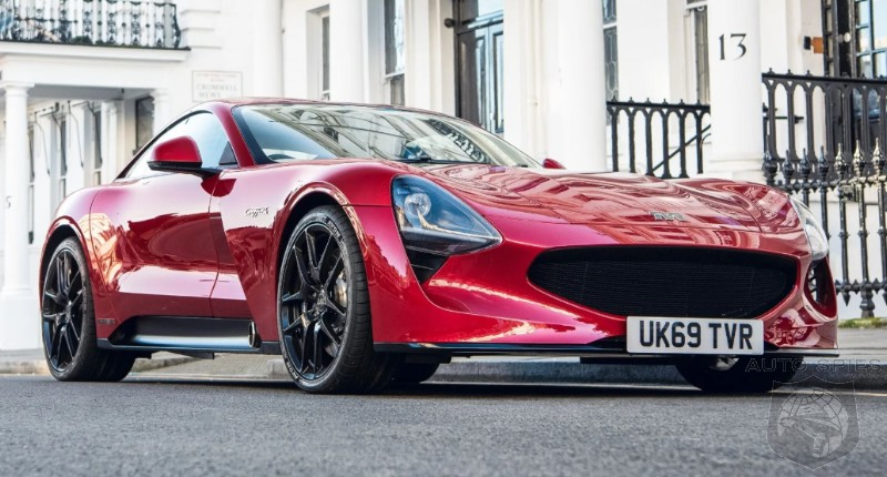 British Coachmaker TVR To Start Delivering The New Griffith Next Year
