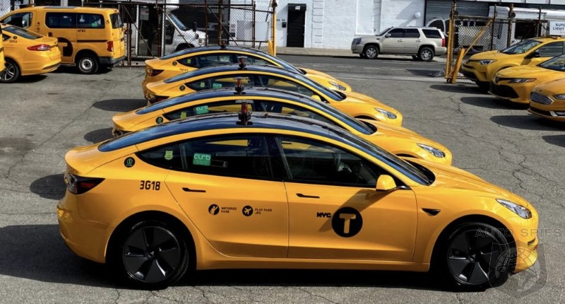Tesla Model 3 Leads The Drive For A Greener New York City Cab Fleet