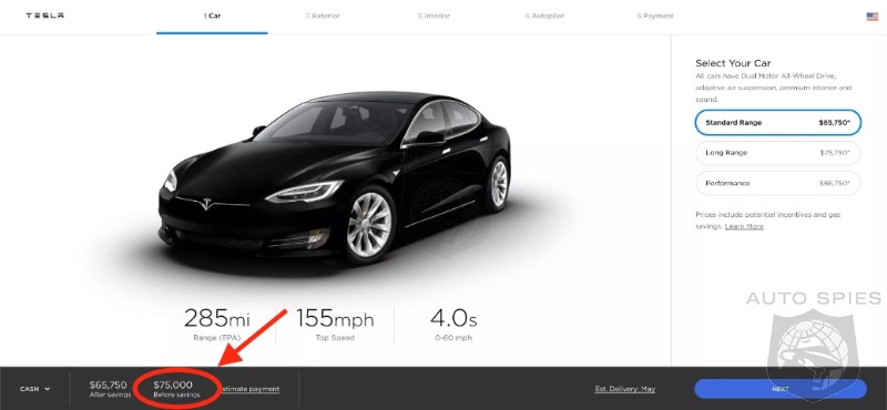 Tesla's Retail Roller Coaster Continues - Model S And X Prices