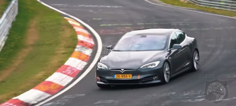 Impressed? Tesla Releases Video Of Model S Testing At The Nürburgring Race Track