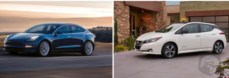 Nissan Leaf Vs Tesla Model 3 - Leading The Lamb To The Slaughter?