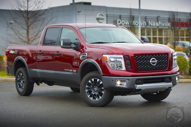 Giving Up? Nissan Scales Back Full Sized Pickup Offerings