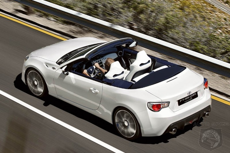 scion makes case for convertible fr s subaru says no to drop top autospies auto news. Black Bedroom Furniture Sets. Home Design Ideas