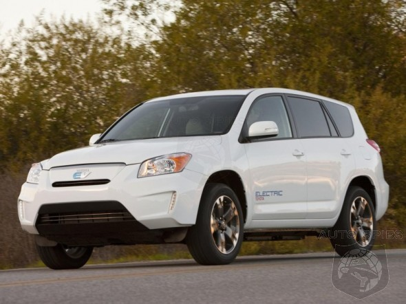 Can You Hear A Fizzle? Toyota Reveals RAV4 EV For ONLY $49,800?