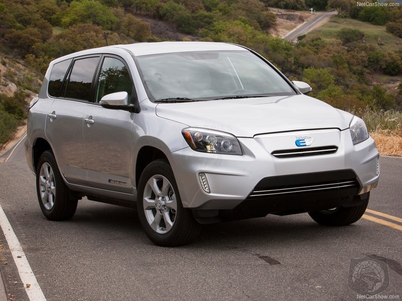 Toyota Kicks RAV4-EV To The Curb After Only Two Years