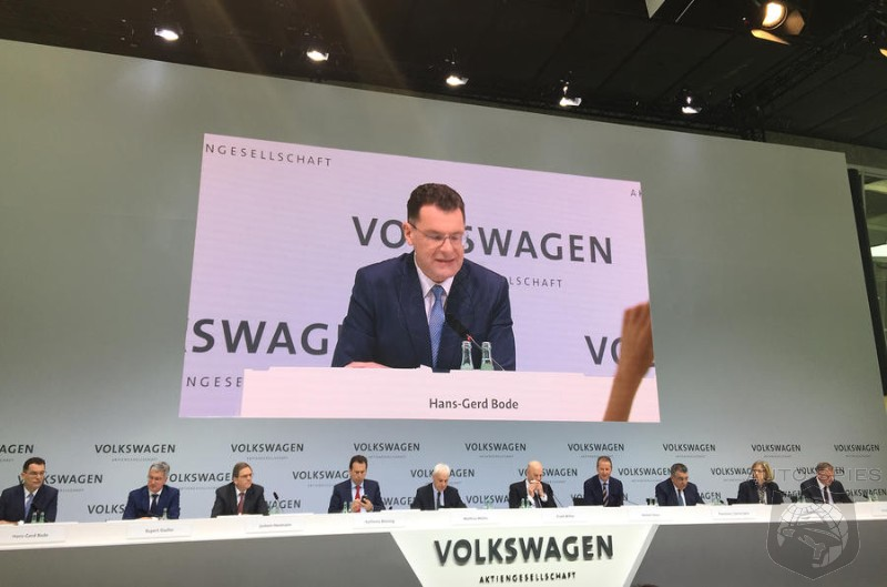 8 Out Of 9 VW Board Members Are White Men - Should VW Start There To Show A True Transformation?