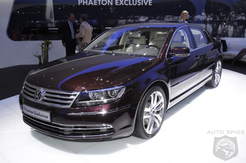 VW Still Obsessed With The Phaeton, What Will It Take To Make It A Success?